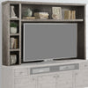 TEMPE - GREY STONE Hutch and Backpanel