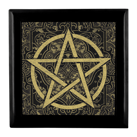 Pentacle Altar/Keepsake Box