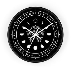 Witch's Wall Clock