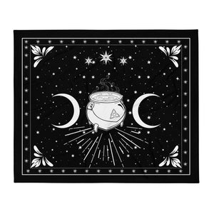 Throw Blanket Printful blanket_template_horizontal FD1 Cauldron pngfinal444