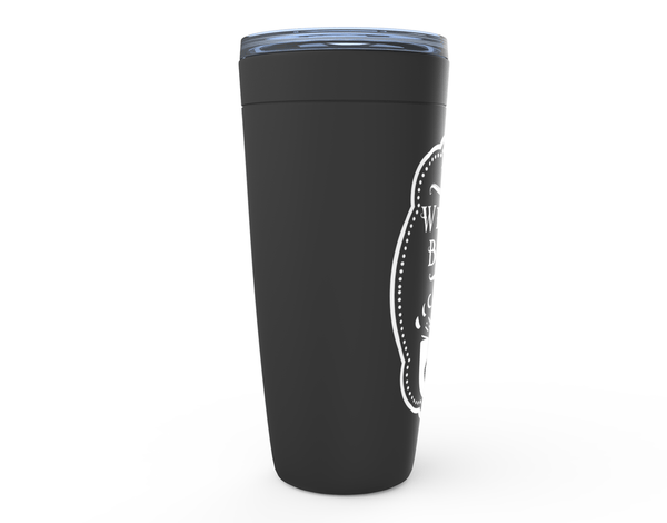 black witchy tumbler