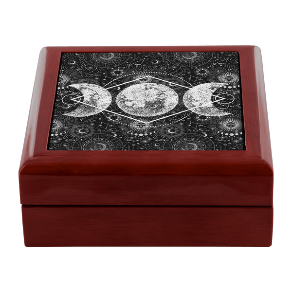 Triple Moon Jewelry Box