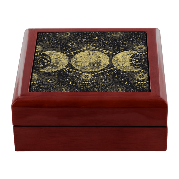 Triple Moon Altar/Keepsake Box