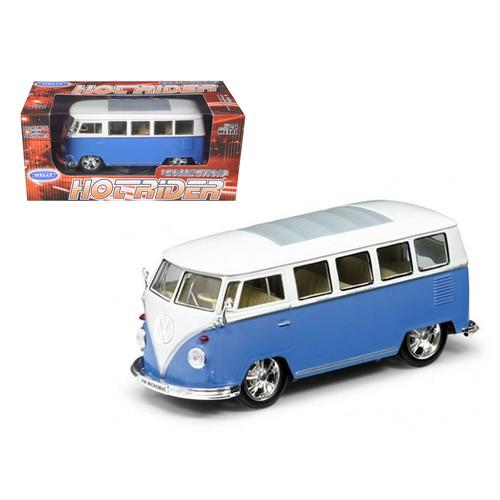 1962 Volkswagen Classical Bus Low Rider Blue