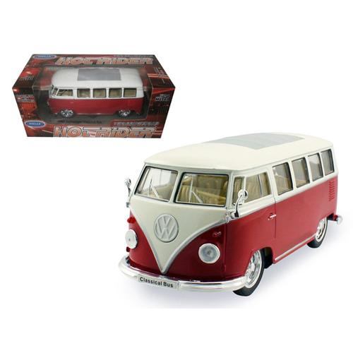1962 Volkswagen Classical Bus Low Rider Red