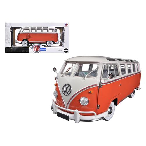 1960 Volkswagen Microbus Deluxe USA Model Red