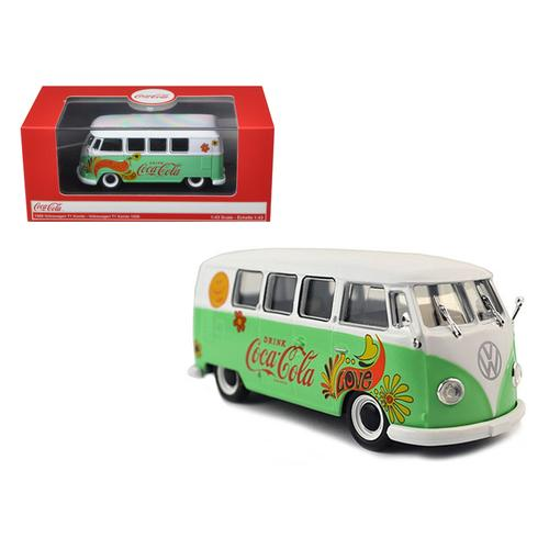 1959 Volkswagen T1 Samba Bus Coca Cola Flowers Version