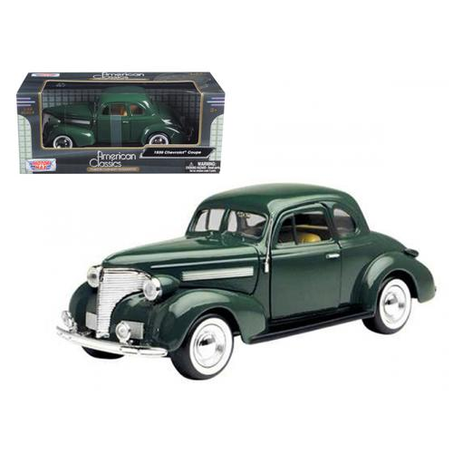 1939 Chevrolet Coupe Green