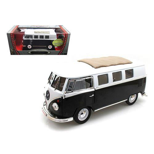 1962 Volkswagen Microbus Black with Sliding Fabric Sunroof