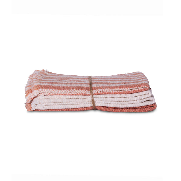 Towel Set/Rosewood Mix