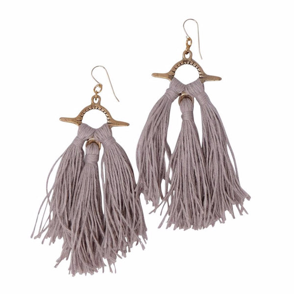Aya Tassel Earrings
