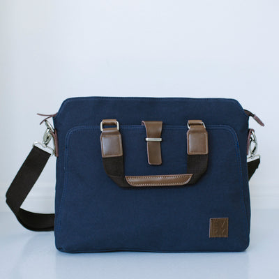 Laptop bag in NAVY