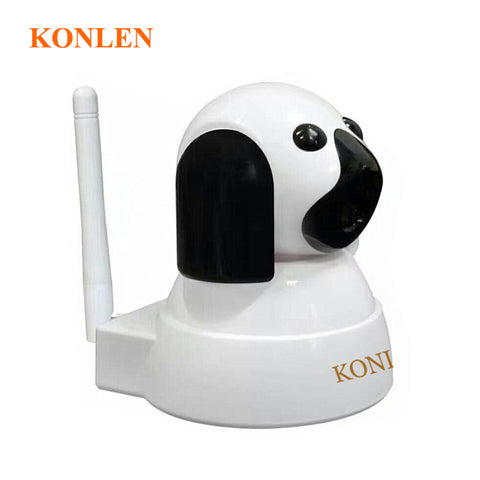 Dog Mini Video IP Camera WIFI Home Baby Monitor 720P HD SD PTZ Audio Night Vision Wireless Camaras de seguridad Security System