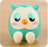 Candy Color Universal Cute Owl Pattern Phone Stand Holder for cell phone Accessories Multifunctional Mini Saving Money Box