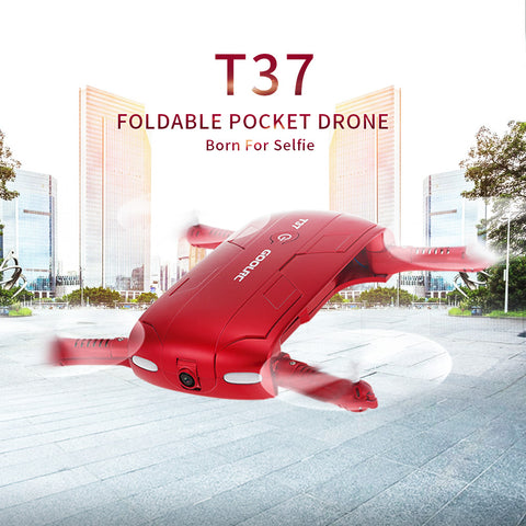 GoolRC T37 Wifi FPV Quadcopter G-sensor Altitude Hold Foldable Mini Selfie RC Drone With HD Camera