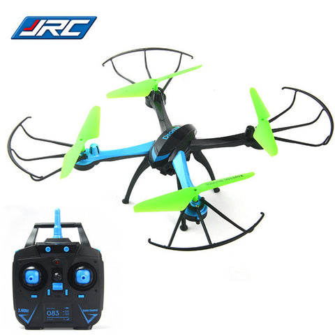 Original JJRC RC Quadcopter 2.4G 4CH 6-Axis Gyro Quad Copters Drones with 0.3MP Camera One Key Automatic Return Drone Dron Toys