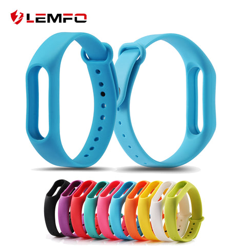 10 colors colorful Strap for Xiaomi Mi Band Miband 2 Light weight durable replacement wristbands Hot!