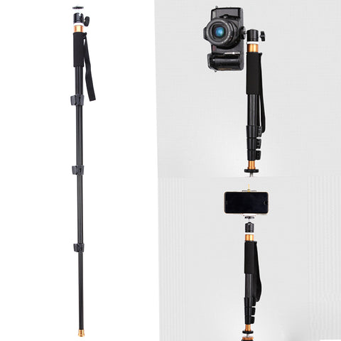 Concise and Portable Mini Aluminum Monopod Selfie Stick for Smartphone and Camera