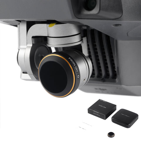 MAVIC Pro Accessories PGYTECH G-HD ND64 Filter Camera Lens Filters for Mavic Pro with retail box