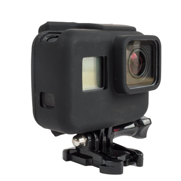 Gopro Hero 5 Black Soft Silicone Cover Side Frame Protective Housing Case for Go Pro Hero5 for Sport Action Camera Accessories