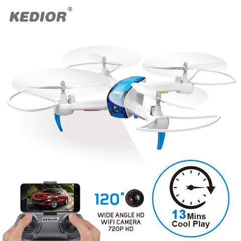KEDIOR Hero 3 Drone with Camera Live Video HD 720P FPV RC Quadcopter 13mins Flying Remote Control Toys 1 Spinner