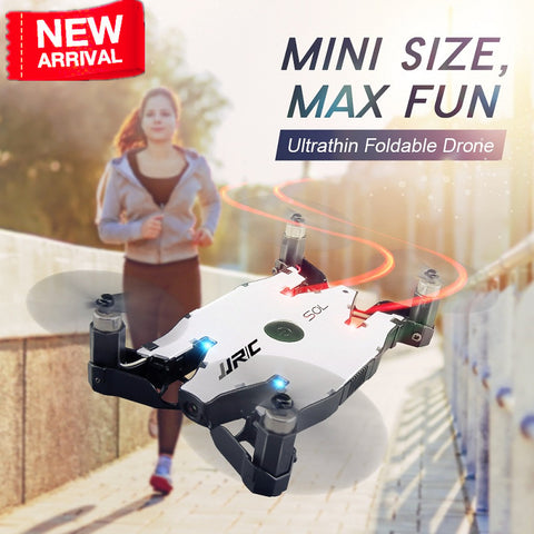 JJRC H49 H49WH SOL Selfie Drone mini Drone with Camera HD 720P wifi FPV Quadcopter RC Helicopter Altitude Hold VS H37 mini H47
