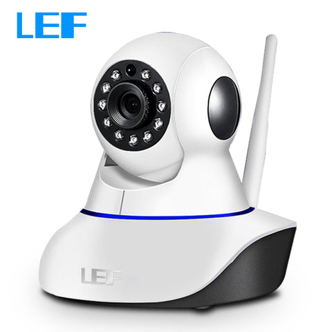 LEF 960P Home Security IP WIFI Camera Wireless CCTV Video Surveillance Camera with Two Way Audio Night Vision Pan Tilt