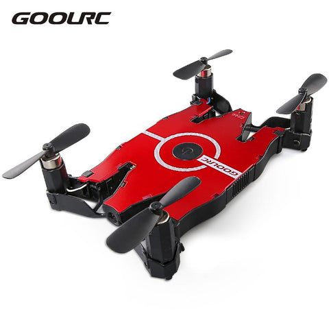 GoolRC 6-Axis Gyro WIFI FPV 720P HD Camera Drone Foldable Drone RC Selfie Pocket Mini Dron RTF Quadcopter Helicopter Gifts