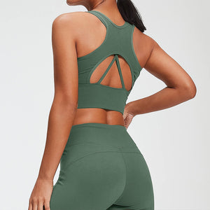 Women's Seamless Yoga Suit