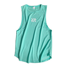 Mens fitness sleeveless breathable sports Tank top
