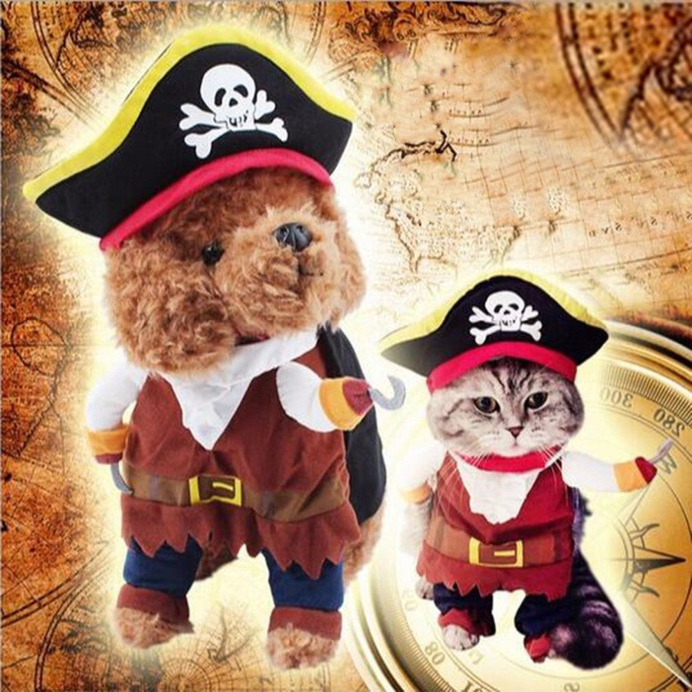 AHOY, DOGGO! PIRATE DOG COSTUME