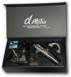 Alpha Dragon III .21 3P-Pre Broken-in engine Combo(EFRA2134 pipe)