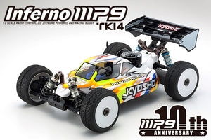 Kyosho 33011B INFERNO MP9 TKI4-10th Anniversary Special Edition