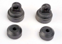 Traxxas TRA3767   PLASTIC SHOCK CAPS & BOTTOMS