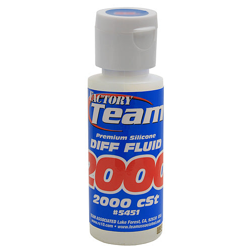 Factory Team Silicone Diff Fluid 2 fl.oz