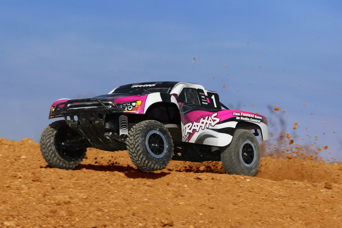 Traxxas TRA58034-1-PINK Pink Edition Slash 1/10 2wd S C Race
