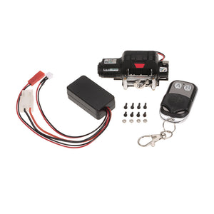 9.5CTI Winch w/ Wireless Remote Controller Receiver for 1/10 Traxxas Hsp Redcat Rc4wd Tamiya Axial SCX10 D91 Hpi RC Crawler