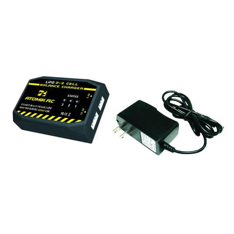 Atomic RC VNR0681   2-3 CELL LIPO BALANCE CHARGER - Race Dawg RC