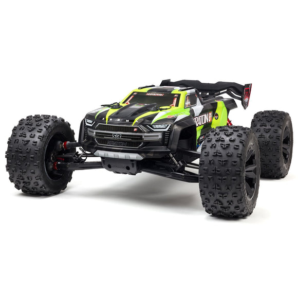 Arrma - 1/5 KRATON 4X4 8S BLX Brushless Speed Monster Truck RTR (Green or Orange)
