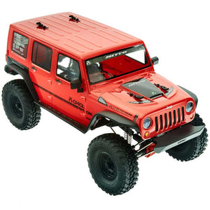 Axial - 1/10 SCX10 II 2017 Jeep Wrangler Unlimited CRC Brushed Rock Crawler 4WD RTR (AXID9060)