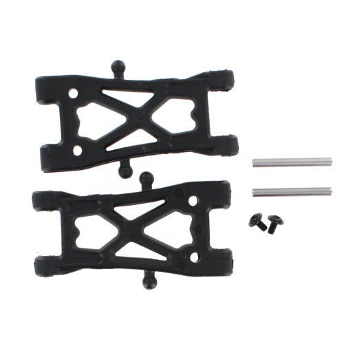 Redcat Racing BS213-007 Plastic Front/Rear Lower Suspension Arm, Outer Hinge Pin, & Pin Screw (2pcs ea.) - Race Dawg RC