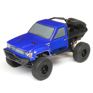 ECX - 1/24 Barrage 4WD Scaler Rock Crawler RTR, Blue (ECX00017T2)