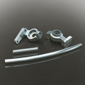 Redcat Racing 180090s Aluminum High Steering Knuckles (L/R) Also includes curved aluminum steering link and aluminum servo link