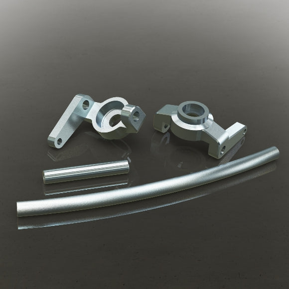 Redcat Racing 180090s Aluminum High Steering Knuckles (L/R) Also includes curved aluminum steering link and aluminum servo link - Race Dawg RC