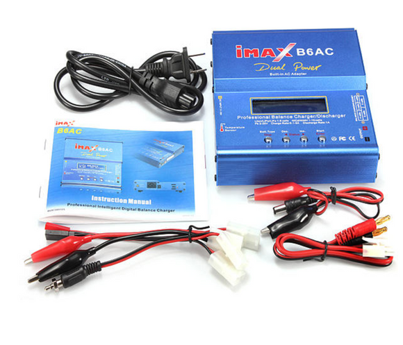 iMAX B6AC PLD2011 Dual Power (5Amps, 50Watts): LiPo, LiIon, LiFe, NiCd, NiMh AC/DC Balancing Battery Charger - Race Dawg RC