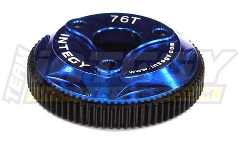 INTEGY 76T METAL SPUR GEAR FOR TRAXXAS STAMPEDE 2WD, RUSTLER & SLASH