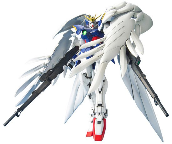 Gundam - BAN129454   Wing Gundam Zero MG Model Kit, from