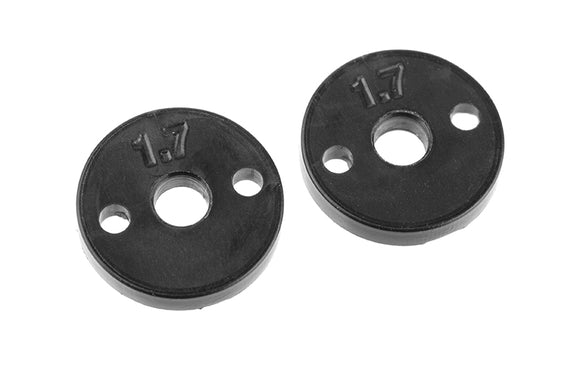 Shock Piston - Composite - 2x 1.7mm Holes - 2 pcs: SBX410 - Race Dawg RC