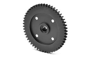 Spur Gear 52T - CNC Machined - Steel - 1 pc