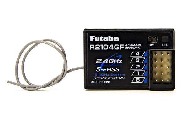 R2104GF 2.4GHz S-FHSS 4-Channel High Voltage